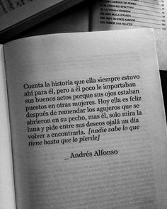 Image in Amazing quotes✍🏼 collection by ♥️ on We Heart It Pretty Quotes, Amazing Quotes, Cute Quotes, Book Quotes, Words Quotes, Sayings, Quotes En Espanol, Proverbs Quotes, Spanish Quotes