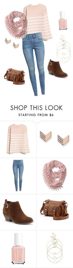"""Grace Russell 1.0 {Good Witch}"" by sarah-natalie on Polyvore featuring MANGO, FOSSIL, H&M, Aéropostale, SONOMA Goods for Life, Candie's, Essie, goodwitch, hallmark and GraceRussell"