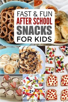 Check out these 25 fun after school snacks for kids. Even the pickiest eaters will love these. They are healthy and delicious! Snacks for kids After School Snacks for Kids - 25 Fun AFter School Snacks Healthy Afterschool Snacks, Healthy Bedtime Snacks, Healthy Afternoon Snacks, Lunch Snacks, Clean Eating Snacks, Cheap Healthy Snacks, Healthy School Snacks, Healthy Breakfasts, Health Snacks