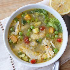 Lemony Chicken Soup Recipe