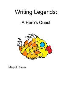 Writing Legends: A Hero's Journey Teaching Genre, Teaching Ideas, Example Of Story, Plot Outline, Writing Checklist, Intermediate Grades, Esl Lesson Plans, Esl Lessons, 3rd Grade Reading