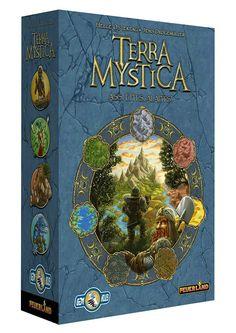 Terra Mystica egy klasszikussá vált összetett stratégia játék! Monopoly, Fantasy, Cover, Mint, Fantasy Books, Fantasia