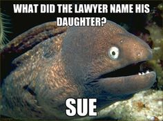 what did the lawyer name his daughter?