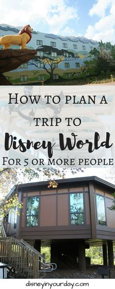Traveling to Disney with 5 or more people Disney World Vacation Tips for planning a trip of 5 or more people – Disney in your Day Disney World Resorts, Disney World Vacation Planning, Disney World Florida, Orlando Vacation, Disney Planning, Disney World Trip, Disney Vacations, Trip Planning, Disney Parks