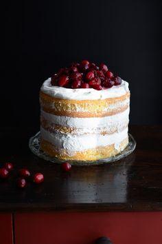 Chic, chic, chocolat...: Layer cake aux cranberries