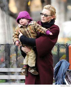 Cate Blanchett and her son Ignatius