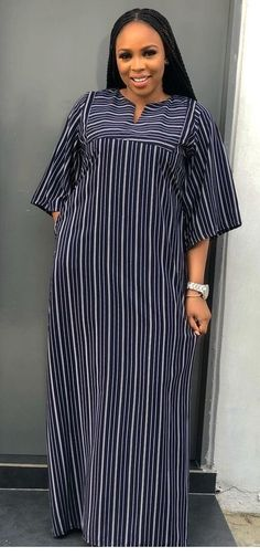 African Print Dresses, African Dresses For Women, African Print Fashion, African Fashion Dresses, African Wear Designs, Ankara Dress Designs, Beautiful Casual Dresses, Fat Girl Fashion, Chic Outfits