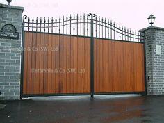 VICTORIAN wooden METAL driveway gates - Google Search