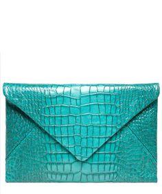 Crocodile leather clutch bag - BAGS - Germany