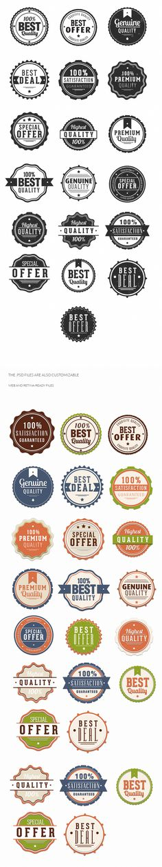 31 Clean & Modern Vector Badges for only $4.99  http://dealfuel.com/seller/31-clean-modern-vector-badges/
