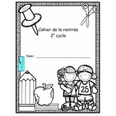 Cahier de la rentrée - 2e cycle