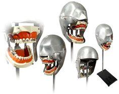 Dental Training 'dummies' - why your dentist turned into a sadist.