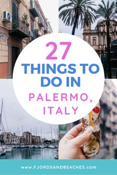 27 Unique things to do in Palermo, Italy – Fjords & Beaches Travel Advice, Travel Plan, Travel Articles, Travel Hacks, Budget Travel, Travel Guides, Travel Tips, Stuff To Do, Things To Do