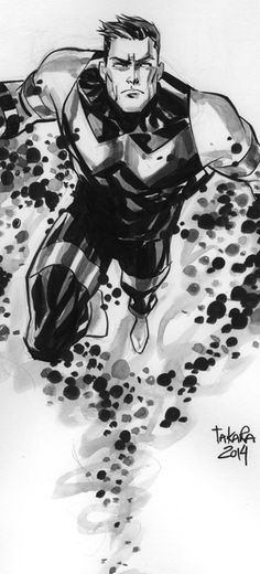 ECCC 14 sketch - Wonder Man by marciotakara on deviantART