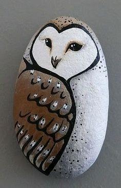 owl - stone art