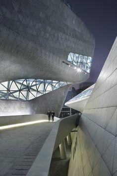 Guangzhou Opera House: by Zaha Hadid