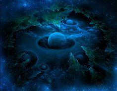 Космические рифы, коллаж