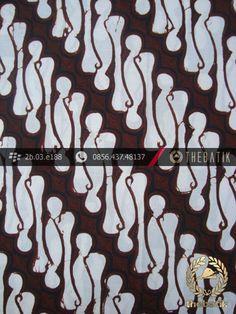 Kain Batik Cap Jogja Motif Parang Barong | Indonesian Batik Fabric Design Pattern http://thebatik.co.id/kain-batik-bahan/
