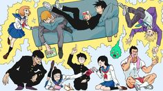 Anime Mob Psycho 100  Wallpaper