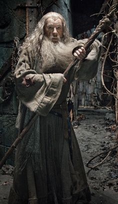 "Gandalf in Dol Guldur also called ""the dungeons of the Necromancer"", was a stronghold of Sauron located in the south of Mirkwood."