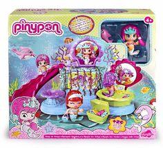 Pinypon - Reino sirenas, muñeco con 20 accesorios, 33 x 30 cm (Famosa 700011510): Amazon.es: Juguetes y juegos