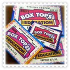 Box tops for education - Education, Tops