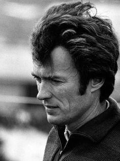Clint Eastwood, by Ron Galella (found on the site every day i show)
