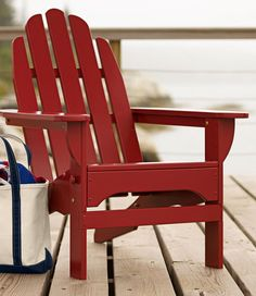 Classic Adirondack Chair: Adirondack at L.L.Bean