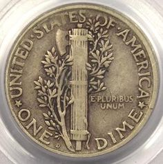 25 Most Valuable Coins | Up for sale here is an excellent 1921-D Mercury Dime that has been ...