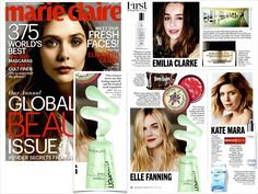 Marie Claire | May 2014 | Elle Fanning loves Epicuren® Tropical Lave Body Cleanser | page 36