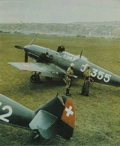 Swiss Messerschmit during WW II Me 109, Ww2 Aircraft, Military Aircraft, Swiss Air, Airplane Fighter, Ww2 Pictures, Aircraft Painting, Ww2 Planes, Aviation Art