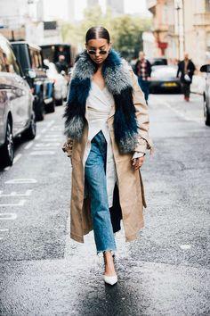 Die besten Street-Styles aus London / Mode-Trends / Mode / Vogue