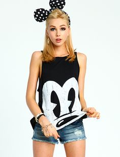 Cartoon Eyes Tank Top  http://www.loveculture.com/Item/ItemDetailView.aspx?StyleId=1000007742#