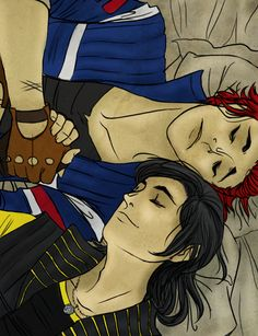 Frerard: Nap Time by Hootsweets on deviantART