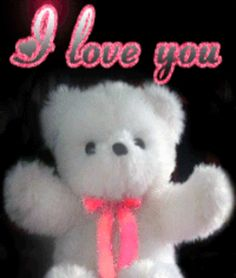 Gif ♥ I love you teddy bear I Love You So Much Quotes, Love Good Morning Quotes, Good Night I Love You, I Love You Pictures, Love You Gif, You Dont Love Me, Cute Love Gif, I Love My Son, Love You Baby