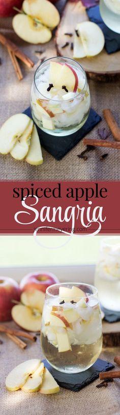 Spiced Apple Sangria - JenniferMeyering.com