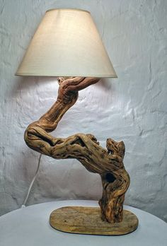 33 Of The Most Incredible Driftwood Lamps Ever