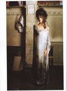 Charlotte Gainsbourg by Deborah Turbeville, 2008.