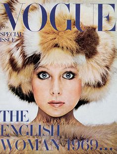 Vogue October 1969 COVER: Barry Lategan MODEL: Patti Boyd