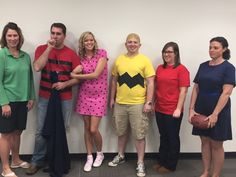 Happy Halloween from the Peanuts!  (10th grade team)