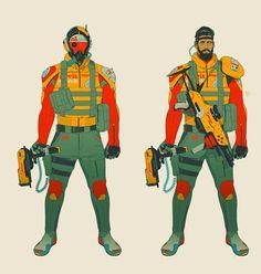 The Ranger. Character and costume designs 2014. By Calum Alexander Watt.
