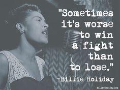 Cotizaciones de vacaciones de Billlie | El sitio web oficial de Billie Holiday Jazz Quotes, Words Of Wisdom Quotes, Billie Holiday Quotes, Sensible Quotes, Great Song Lyrics, Lady Sings The Blues, Bobby Darin, Great Memes, Jazz Musicians