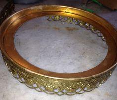 brass banding soldered to brass ring.