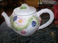 1950's trendy English retro Teapot