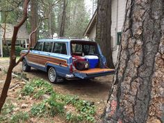 Ready to leave suburbia for an adventure. Wagoneers are perfect for both!