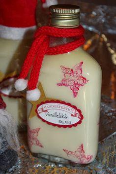 Vanille-Likör - dies´und das und süsse Sachen...