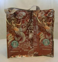Starbucks Bag Starbucks #starbucks, #pinsland, #coffee, https://apps.facebook.com/yangutu