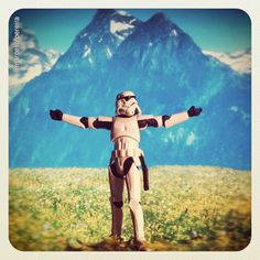 The Sound of Music Stormtrooper-style....this kills me more than it should LOL