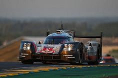 2017 Le Mans winning Porsche 919 powering into the dawn. Porsche team drivers Earl Bamber, Timo Bernhard and Brendon Hartley pulled off a spectacular comeback to take victory for Porsche in an attrition-filled Le Mans 24 Hours.