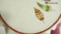 Aprenda a fazer 10 tipos de folhas bordado a mão passo a passo #bordado #bordadopassoapasso #embroidery #arte #comofazer #artesanatocriativo #manualidades Hand Embroidery Projects, Basic Embroidery Stitches, Hand Embroidery Videos, Embroidery Flowers Pattern, Creative Embroidery, Learn Embroidery, Embroidery Patterns Free, Embroidery For Beginners, Cross Stitch Embroidery